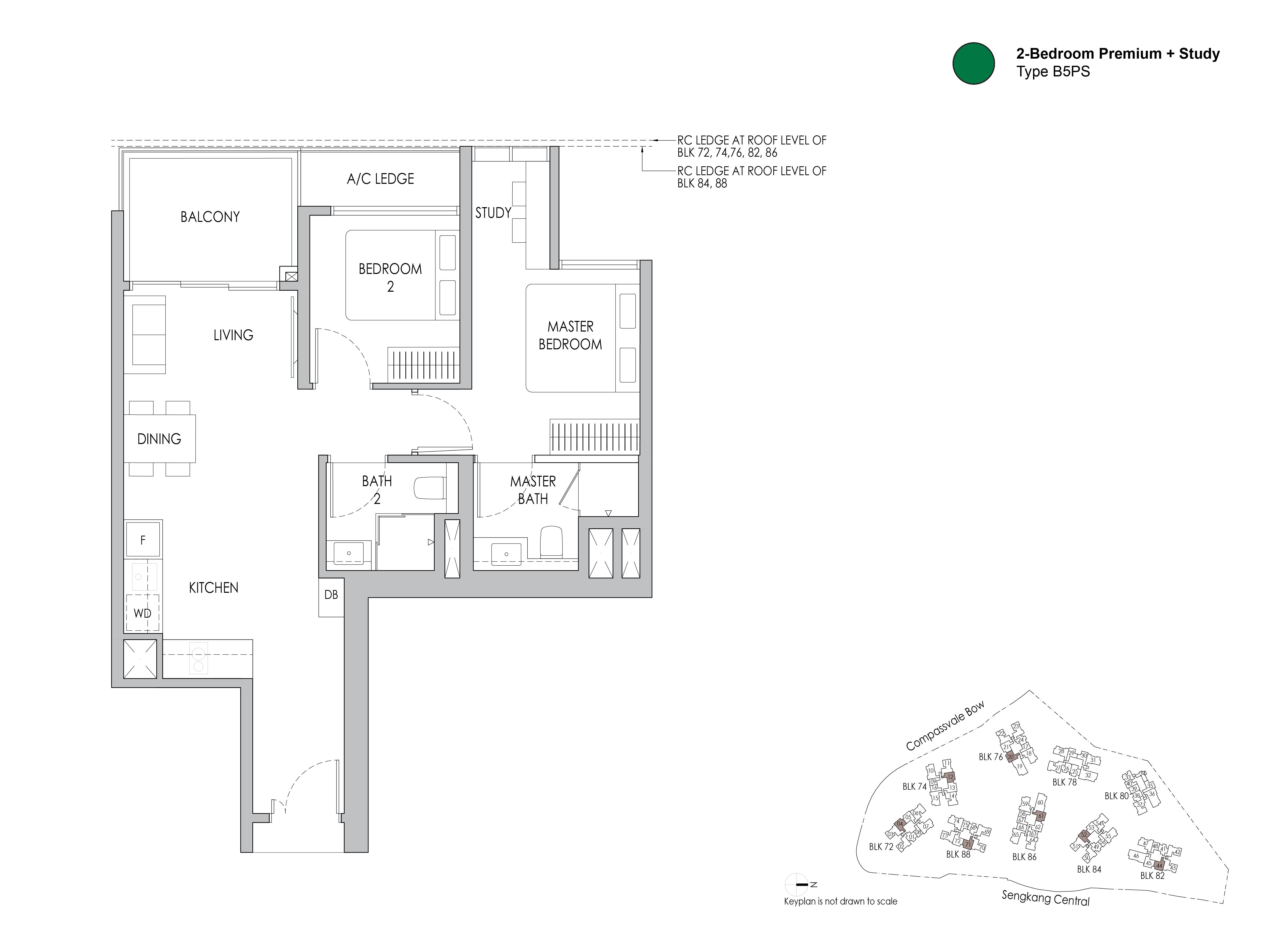 SengKangGrandResidences_2-Bedroom Premium+Study_Type_B5PS.png